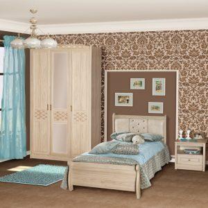 Спальня «Леон» (Вяз 1)