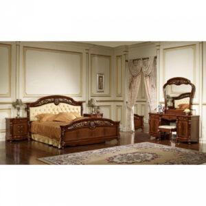 Спальня АФИНА Орех с золотом