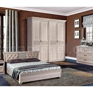 Спальня ЛЮЧИЯ 3 Дуб Оксфорд Серый