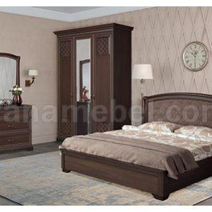 Спальня ПАРМА 1 (Нортон темный)