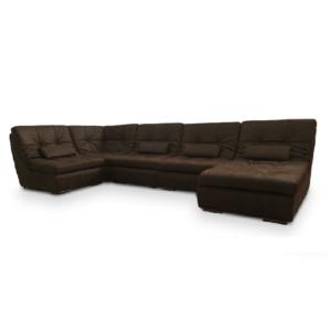 Модульный П-образный диван Елена фото