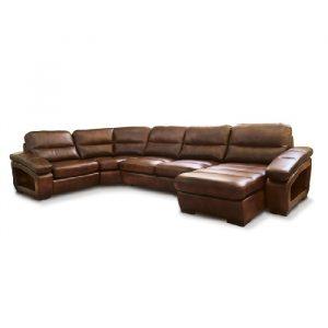 П-образный модульный диван Елена 23 фото