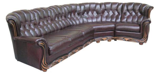Угловой диван Европа1 фото