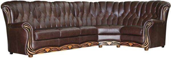 Угловой диван Европа3 фото